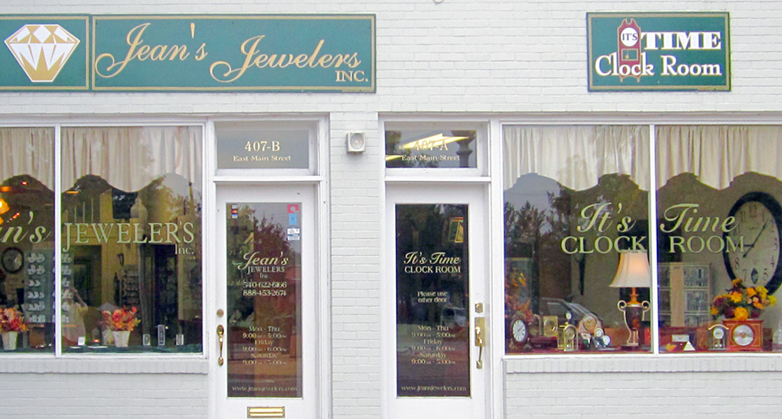 Jean's Jewelers, Front Royal, VA