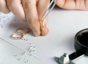 selecting and setting gemstones